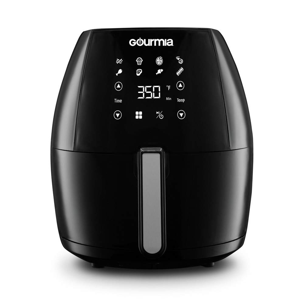 Gourmia Digital Air Fryer 6Qt - Black