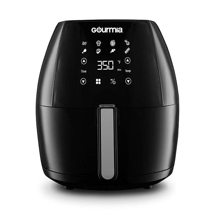 Gourmia Digital Air Fryer 6Qt - Black
