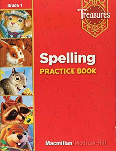 Treasures: Spelling Practice Book, Grade 1