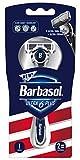 Barbasol Ultra 6 Plus Men's Razor with 2 Razor Blade Refills (1...