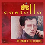 ELVIS COSTELLO ATTRACTIONS Punch The Clock LP Vinyl VG++ Cover VG+ 1983 PC 38897