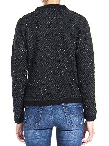 Jeans 457 Taille Gris Et Veste Carrera Manche Pour Z27 Normale Femme Noir Foncé Bicolore Fantaisie Longue 4qwRdxp