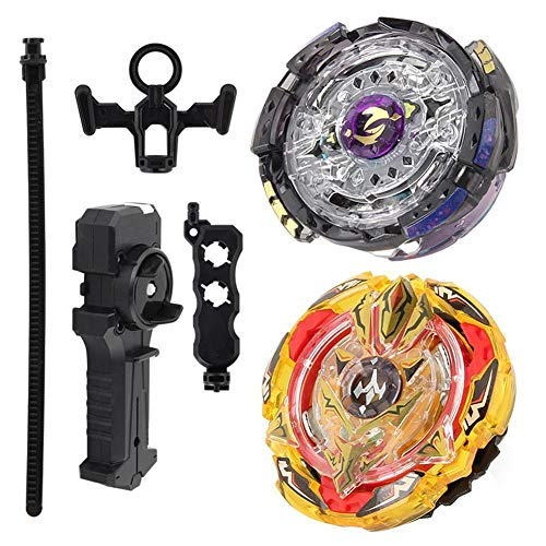 FidgetGear Metal Alloy Beyblade Bur Arena Gyro Fighting Gyroscope Launcher Spinning Toy Set from FidgetGear