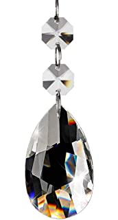 Highrock teardrop chandelier crystal pack of 10 suncatchers fushing 20pcs chandelier crystals clear teardrop crystal chandelier pendants parts beads hanging crystals for aloadofball Choice Image