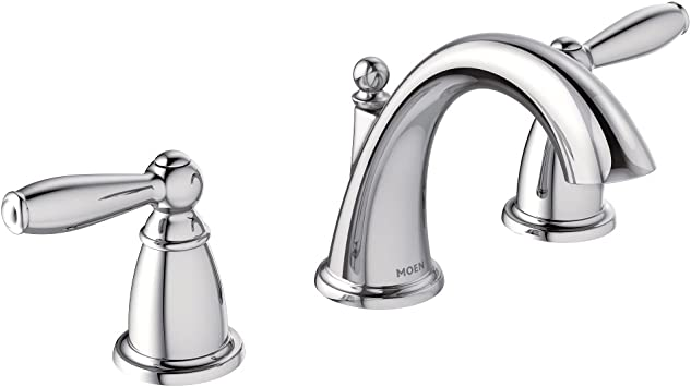 Moen T6620 Brantford Two Handle 8 In Widespread Bathroom Faucet