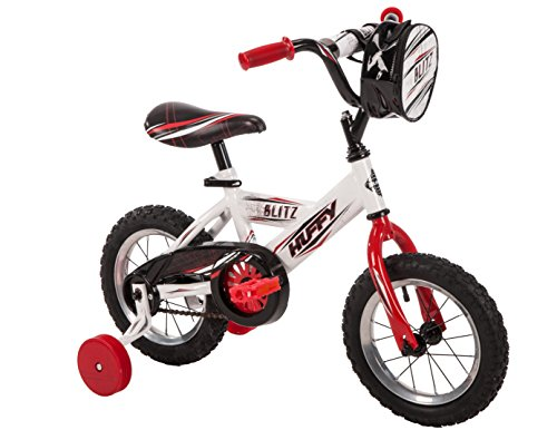 "12"" Huffy Blitz Boys' Bike, Ages 3-5, Height 37-42"""