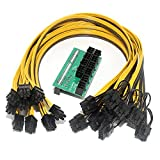 xlpace Breakout Board + 10pcs Cable for HP 1200w/750w Power Module Mining Ethereum