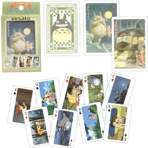 Studio Ghibli Playing Cards - My Neighbor Totoro by CHUGAN Corporation