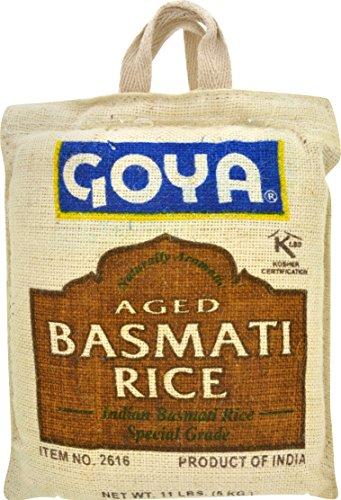 Goya Aged Basmati Rice, 11 Pound