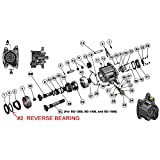 NEW REVERSE BEARING FOR BERT ALUMINUM AND MAGNESIUM 2ND GENERATION TRANSMISSIONS FOR MODIFIED, LATE MODEL, AND STREET STOCK RACING, SG-1031, TRANNY, MUNCIE-LENGTH, BALL SPLINE, NEW ENGLAND DIRT, IMCA, UMP, USMTS, ETC