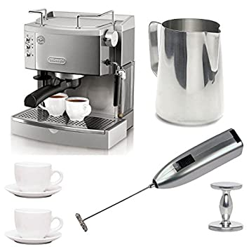 DeLonghi ec702 15-bar-pump – Cafetera de espresso con Espresso manipulación, jarra