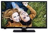 Telefunken XH24A101 61 cm (24 Zoll) Fernseher (HD Ready, Triple Tuner, DVB-T2 H.265/HEVC)