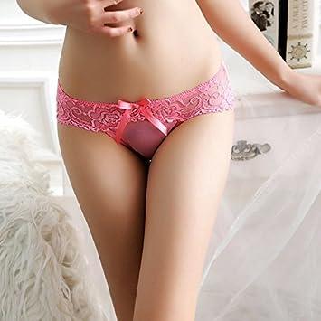 XW-atxsExtrema encaje hueco transparente de hilo triangulo pequeño ropa interior femenina,F,