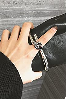 Amazon chrome hearts skull diamond cross necklace pendant arts generic right zhilong same paragraph chrome hearts n c cross retro women girls lady index finger aloadofball Gallery