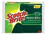 Scotch-Brite Heavy Duty Scrub Sponge, 4-Sponges/Pk, 12-Packs (48 Sponges Total)