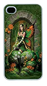 IPhone 4S Cases Jade Fairy Polycarbonate Hard Case Back Cover for iPhone 4/4S White by lolosakes by lolosakes