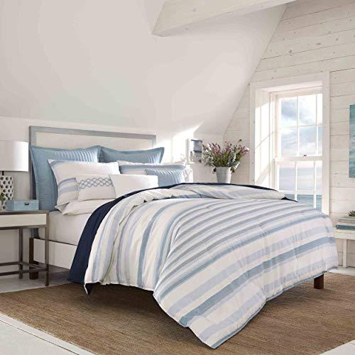 Nautica Locklear Comforter Set, Queen, Mineral - Nautica Queen Comforter