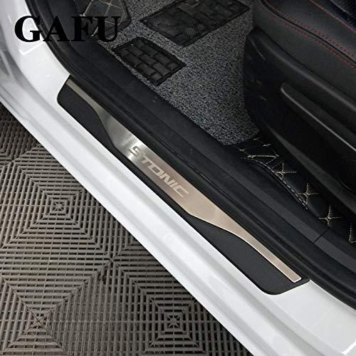 Auto Styling battitacco per stonic porticina portello porta accessori argento