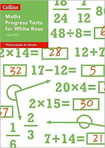 Descargar PDF Year 5/p6 Maths Progress Tests For White Rose