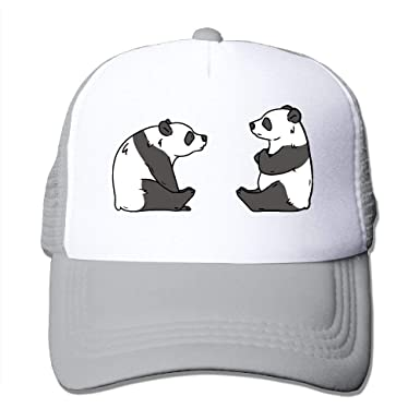 Two Pandas Hug.PNG Classic Adjustable Mesh Trucker Hat Unisex ...