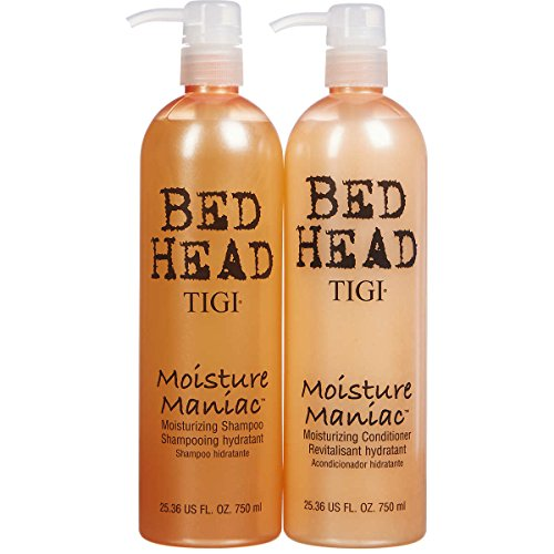 Bed Shampoo - Bed Head Moisture Shampoo and Conditioner 25.36 Fl. Oz. 750 Ml Each.
