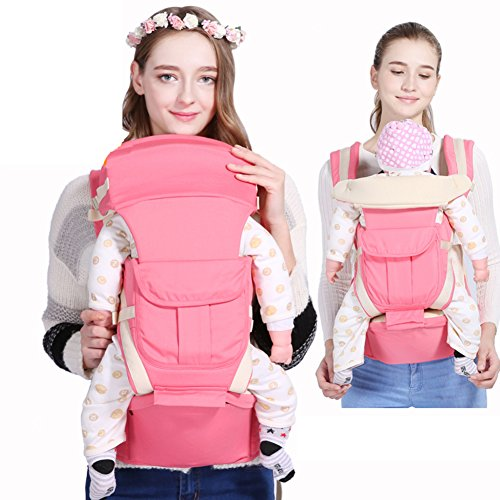 Baby carrier,Full seasons Waist stool Meets Multifunction Baby carrier for infants and toddlers Front-hold Cross hug Sitting stool Baby carrier original-B by LTSGSBB