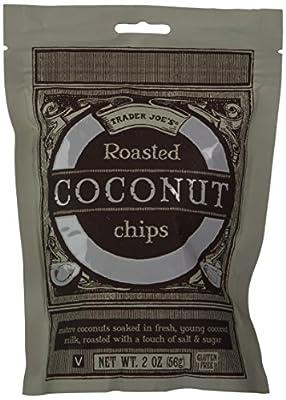 Trader Joe's Roasted Coconut Chips - 2 Pack