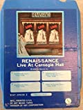 RENAISSANCE Live At Carnegie Hall 8 track tape 1976 Sire Original