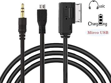 MMI//AMI Câble adaptateur pour USB-Stick VW Polo