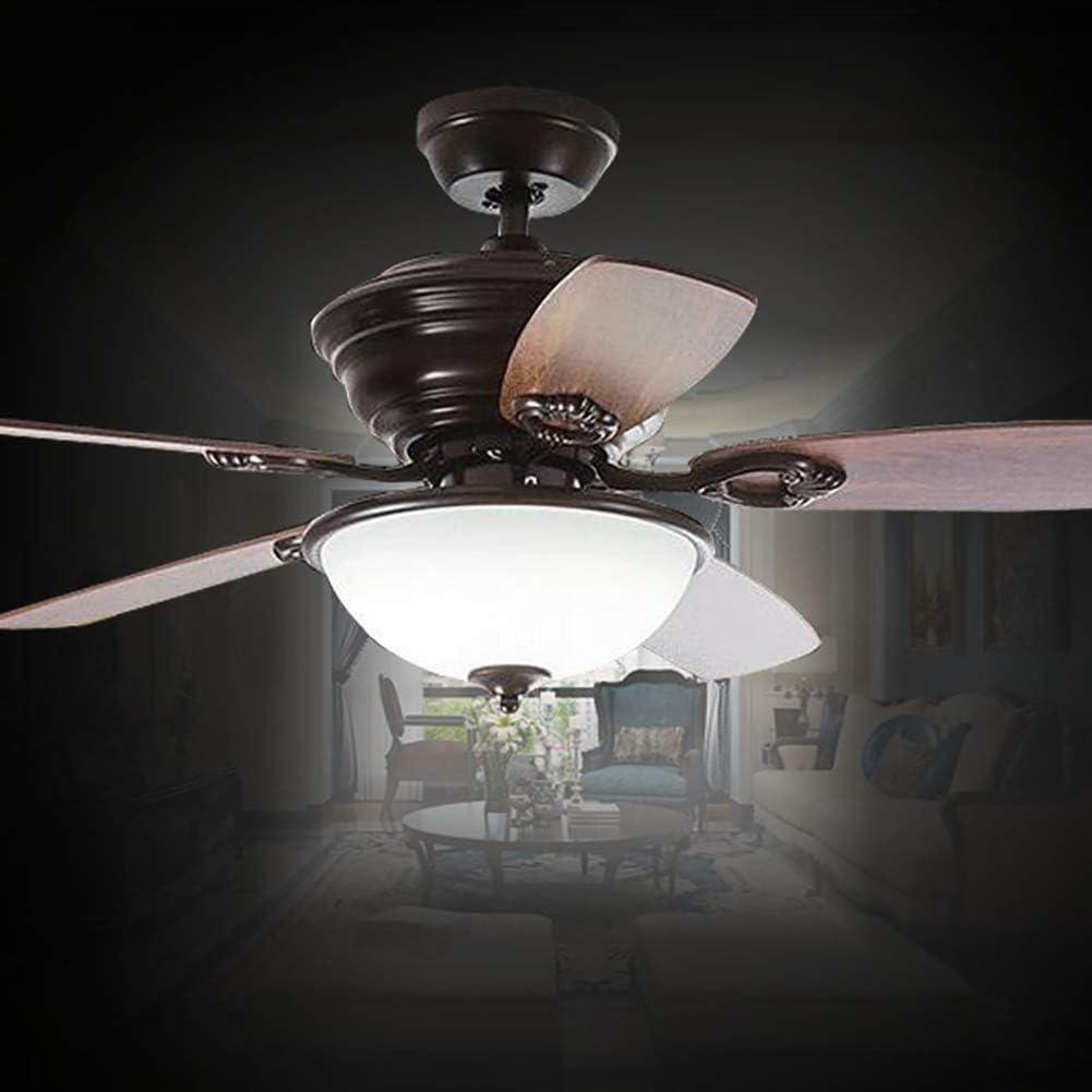 Ventilador de techo con luces LED y mando a distancia, aspas del ...