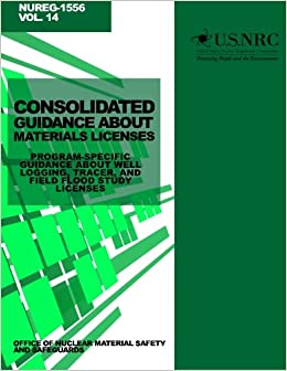 Consolidated Guidance About Materials Licenses: Program ...