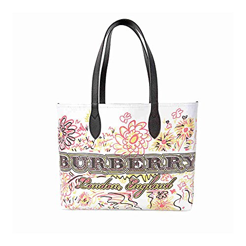 Burberry Women's Doodletote Check Reversible Canvas Tote - Bag 2014 Burberry