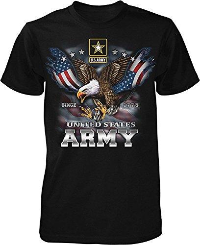 US Army Since 1775 Eagle USA American Flag