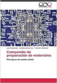 Compendio de preparación de materiales: Principios de