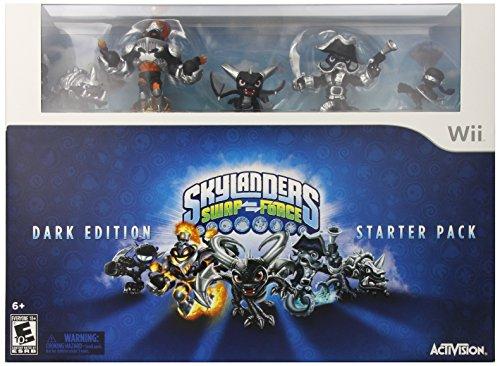 Skylanders SWAP Force Dark Edition Starter Pack - Wii
