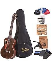 Paisen Tenor ukulele 26 inch professional Rosewood Ukuleles send a full set of Ukelele accessories