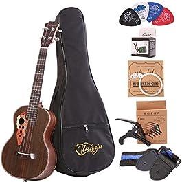 Tenor ukulele 26 inch Professional Rosewood Ukuleles send a full set of Ukelele accessories