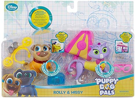 Amazon Com Disney Collection Puppy Dog Pals Rolly Hissy Action