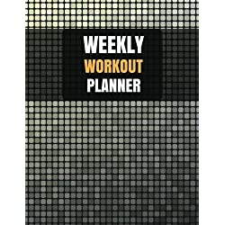 Weekly Workout Planner: With Calendar 2018-2019 Weekly Workout Planner ,Workout Goal , Workout Journal Notebook Workbook size 8.5x11 Inches Extra Large Made In USA (fitness journal planner) (Volume 1)