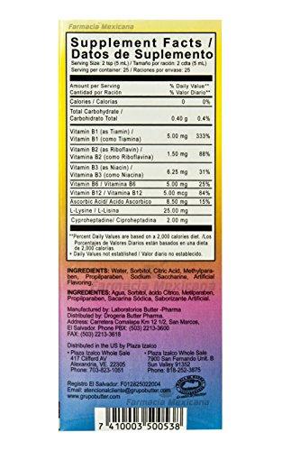Amazon.com: Glotolin Appetite Stimulant Kids Syrup 8.33 oz - Jarabe Estimulant Apetito: Health & Personal Care