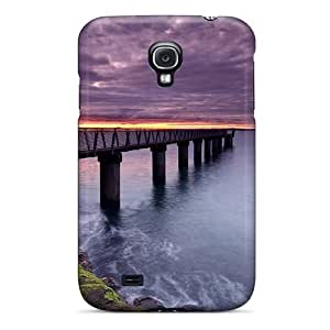 Hot Tpu Cover Case For Galaxy/ S4 Case Cover Skin - Beach Path