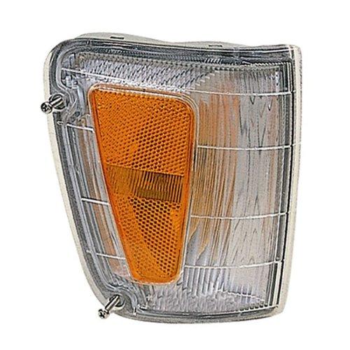 00 T100 Pickup Truck Park Corner Light Turn Signal Marker Lamp Right Passenger Side (1993 93 1994 94 1995 95 1996 96 1997 97 1998 98) ()