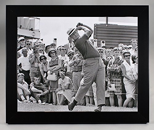 Framed Jack Nicklaus At Pleasant Valley Country Club In 1965, 8x10 Photograph (Valley Club Country)
