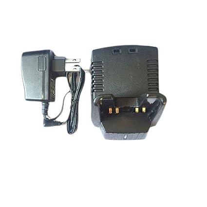 mengonee Cargador de batería vac-10 para Vertex VX-160 VX ...
