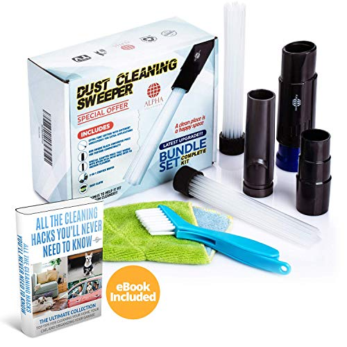 Dusters For Cleaning/Universal Vacuum Cleaner Attachments/Dusty Brush-Flexible Tiny Tubes/Master Dust Brush Attachment Tool/Daddy's Car Detailing Kit/Computer-Keyboard Sweeper,Air Vent,Drawer,Blind
