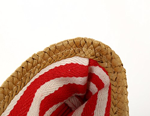 Borse Di Rossa Tela A Strisce Marina Borsa Donna Te Spiaggia Tracolla Da BxqWRZF5wC