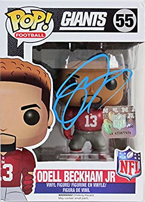 the latest 9a94a 1c1fb Giants Odell Beckham Jr. Certified Signed Autographed Funko ...