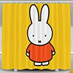 Rdsfhsp Miffy Rabbit Four Seasons High Resolution Photography Shower Curtainses,Shower Hooks are Included-Water, Soap, and Mildew Resistant