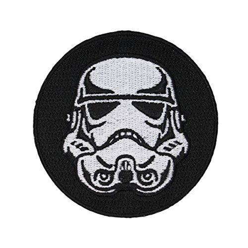Disney Star Wars Storm Trooper Helmet Patch Officially Licensed Iron On Applique