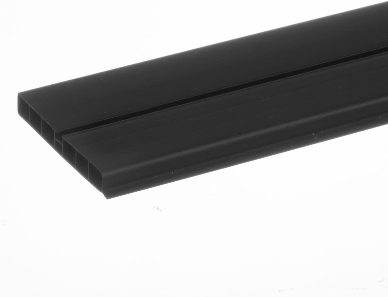 HBK10 HOLZBRINK Verbinder Sockelblende Sockelleiste f/ür Einbauk/üche 100mm H/öhe ALUMINIUM Satin